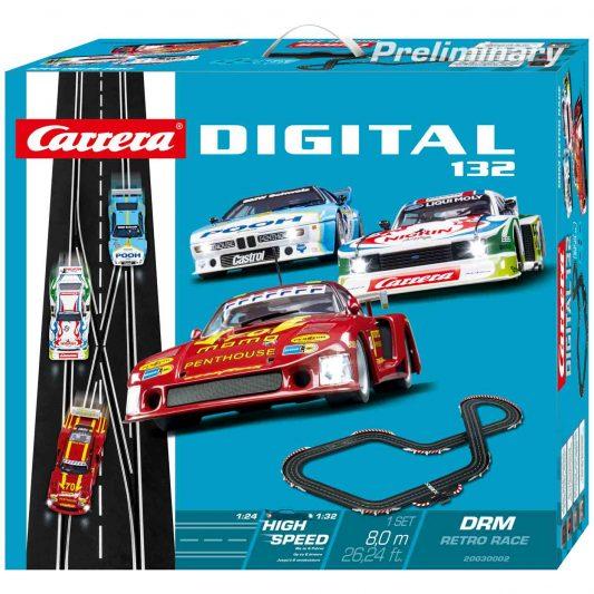 Carrera DIGITAL 132_DRM Retro Race_Verpackung