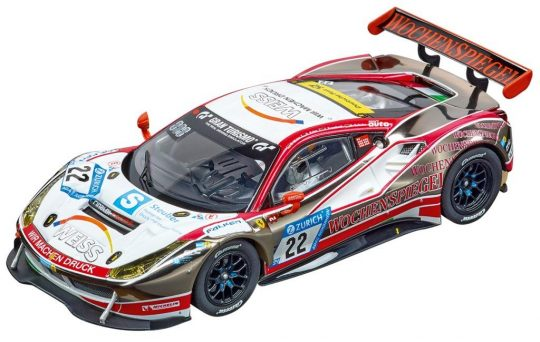 Carrera DIGITAL 132_Ferrari 488 GT3 WTM Racing, No.22