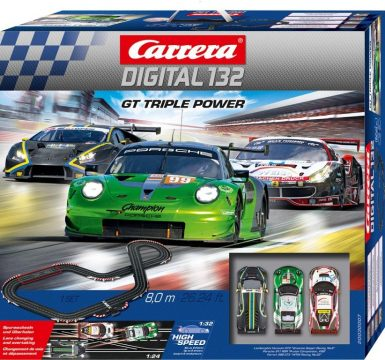Carrera DIGITAL 132_GT Triple Power_Verpackung