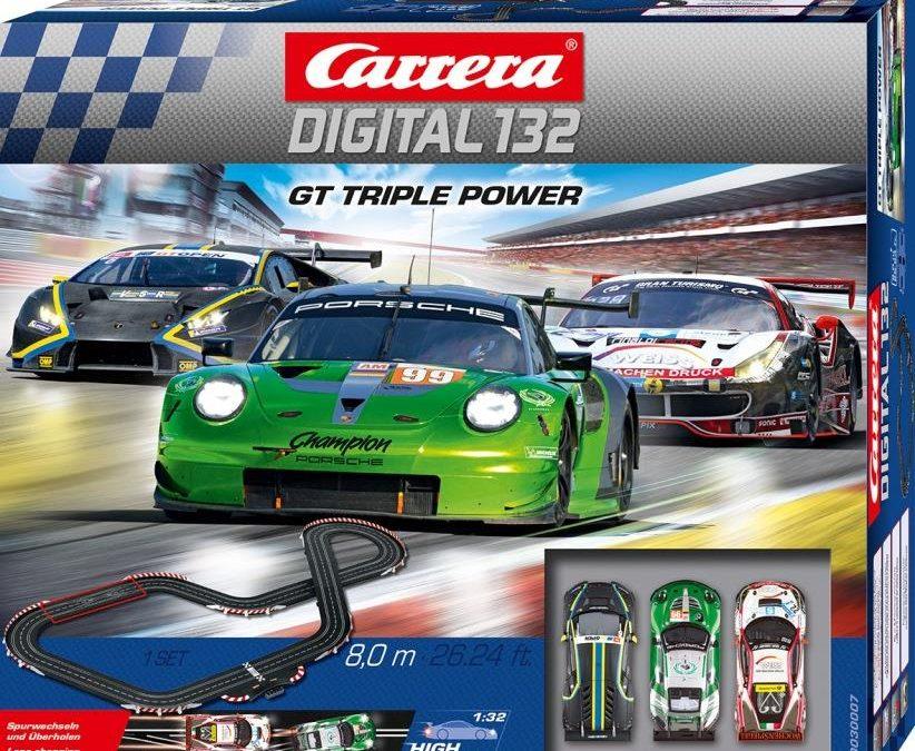 Carrera DIGITAL 132: Zwei neue Grundpackungen 08/2019