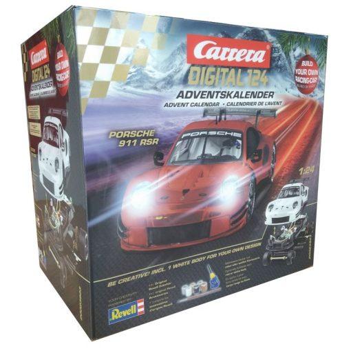 Carrera Digital 124 Adventskalender Porsche 911 RSR Bausatz