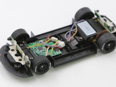 Carrera Digital 124 Fahrwerk mit Decoder Audi R8 LMS M. Griffith Nr. 19 23861