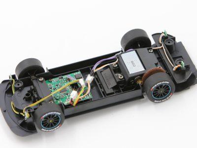 Carrera Digital 124 Fahrwerk mit Decoder DTM Mercedes