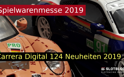 Carrera DIGITAL 124 Neuheiten 2019