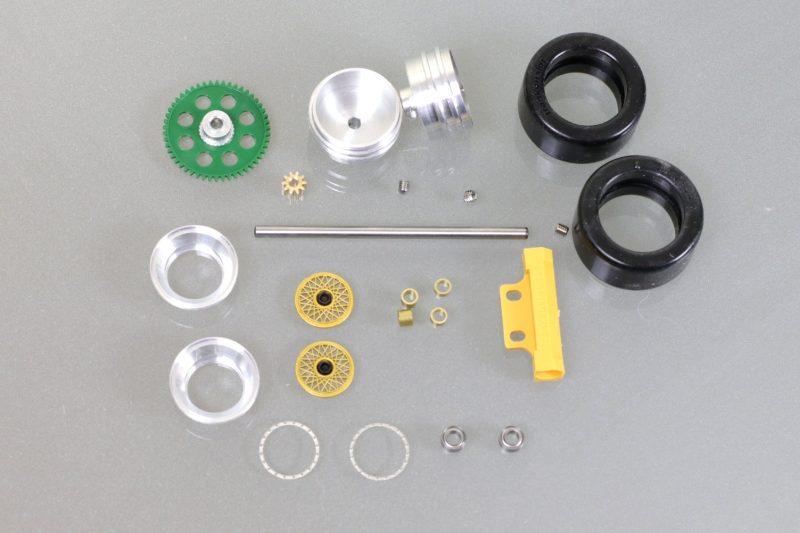 Carrera Digital 124 Tuning Kit Ford Capri Zackspeed