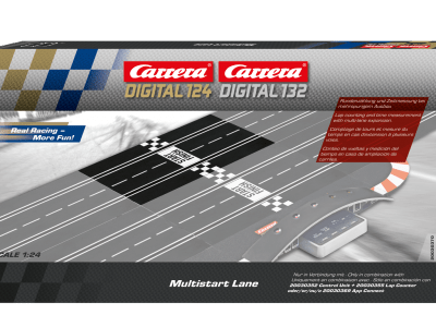 Carrera Digital 132/124 Multistart Lane 20030370