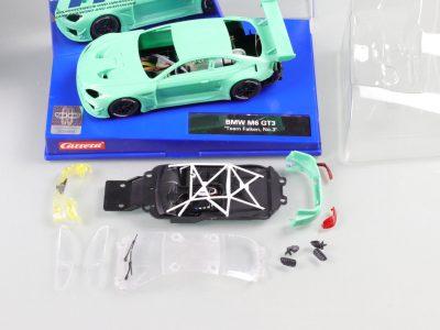 Carrera Digital 132 BMW M6 GT3 mit Rohkarossiere Whitebody