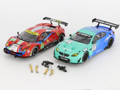 Carrera Digital 132 Bundle Ferrari 488 30848 und BMW M6 GT3 30844