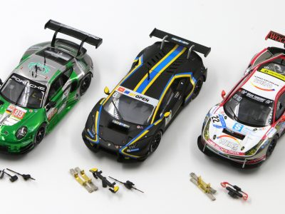 Carrera Digital 132 Bundle Lamborghini Huracán GT3, Ferrari 488 GT3, Porsche 911 RSR