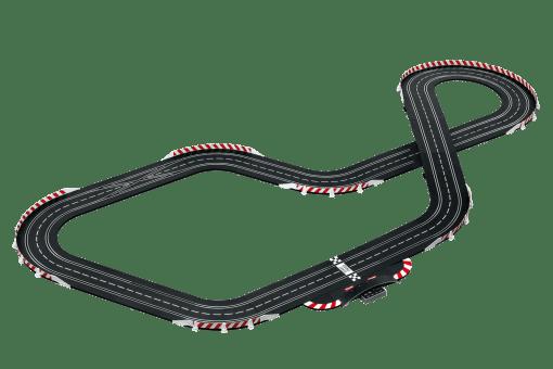 Carrera Digital 132 DRM RETRO RACE 20030002 Bahnlayout