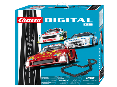 Carrera Digital 132 DRM RETRO RACE 20030002 Grundpackung