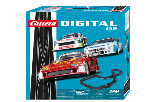Carrera Digital 132 DRM RETRO RACE 20030002 Grundpackung