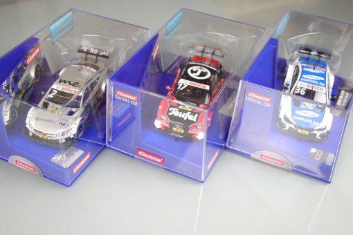 Carrera Digital 132 DTM Bundle BMW M4 30835 und Teufel Audi 30741 und Mercedes C63 30838