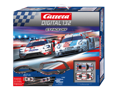 Carrera Digital 132 GT Face Off Grundpackung 20030012