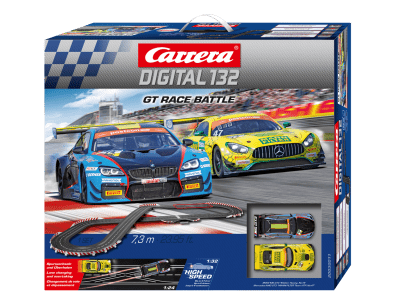 Carrera Digital 132 GT Race Battle Grundpackung 30011