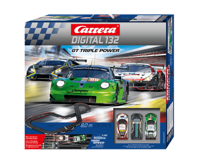 Carrera Digital 132 GT Triple Power 30007