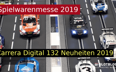 Carrera Digital 132 Neuheiten 2019