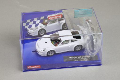 Carrera Digital 132 Porsche 911 GT3 RSR mit Rohkarossiere Whitebody Box