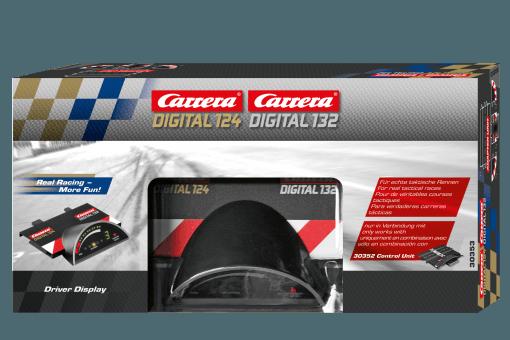 Carrera Driver Display 20030353 für Carrera Digital 132 und 124 Box