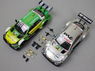 Carrera Evolution Audi RS5 DTM und Mercedes-AMG C 63 DTM