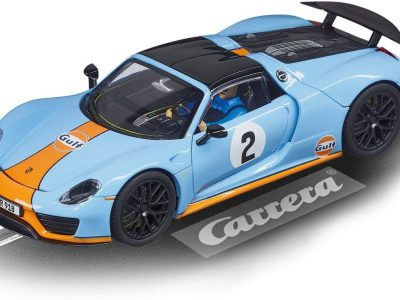 Carrera Evolution Porsche Spyder Gulf 20027549