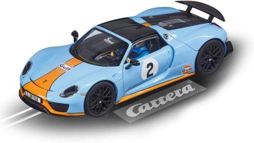 Carrera Evolution Porsche Spyder Gulf 20027549