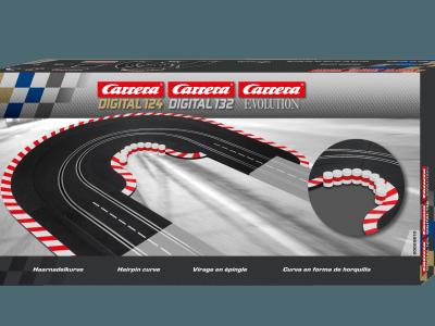 Carrera Haarnadelfirma für Digital 132-124 und Evolution 20020613