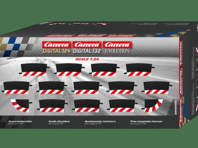 Carrera Außenrandstreifen für Steilkurve 4/ 15 Grad 20020580