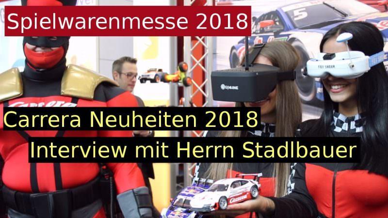 Carrera Neuheiten 2018 Interview
