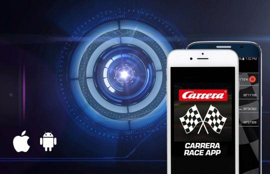 Carrera Race App für iOS und Android