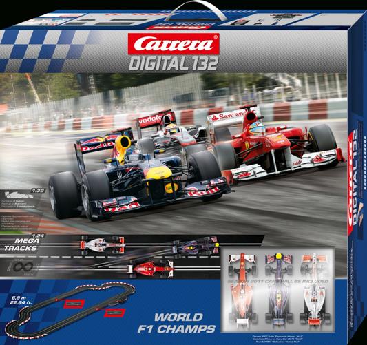 Saisonauftakt in der Formel1 mit Carrera