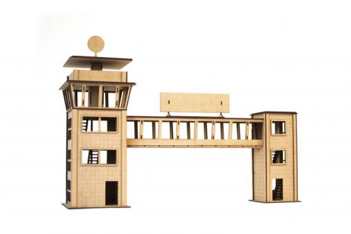 Control tower with crosswalk PSR0501
