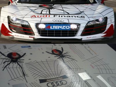 Decals Audi R8 LMS PH Red Back Spider Maßstab 1-24 R819-24