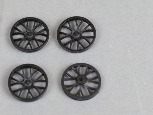 Felgeneinsatz BBS GT3 schwarz mit 19-1 mm Durchmesser 88033 Set