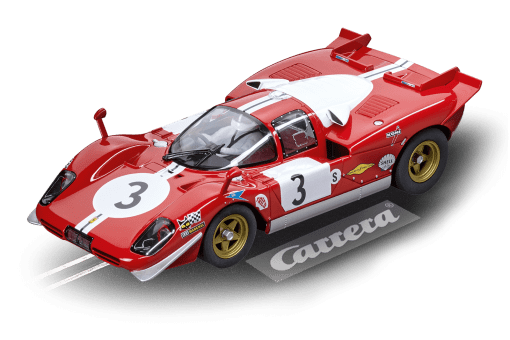 Ferrari 512S Berlinetta Scuderia Filipinetti No.3 1970 20023856 Carrera Digital 124