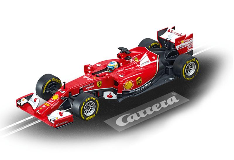 "Ferrari F14 T ""F. Alonso, No.14"" und F14 T ""K. Räikkönen, No.7"