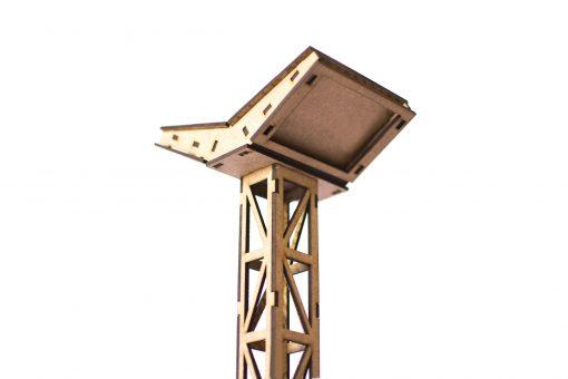 Flutlichtmast mit LED Panel zweiseitig PSR0506
