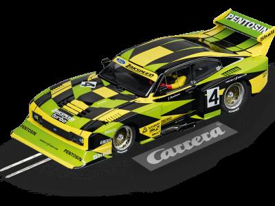Ford Capri Zakspeed Turbo Jürgen Hamelmann-Team No. 4 Carrera Digital 132 20030832