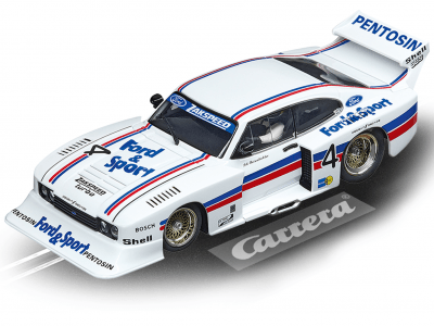 Ford Capri Zakspeed Turbo Lili Reisenbichler No.4 20030926 Carrera Digital 132