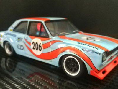 Ford Escort MkI Team Gulf #206, Heikki Kemilainen 1972 Scandinavian Touring Car Championship - TTS017