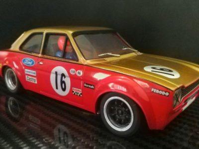 Ford Escort Twin Cam Alan Mann Racing #16, Frank Gardner 1968 BTCC Champion - TTS018