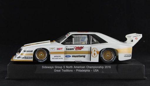 Ford Mustang Turbo Miller Bill Scott Racing - IMSA GTX Mid Ohio 1981 - K. Ludwig Sideways SW46