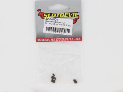 Gewindestift DIN 913 M2 x 4 mm (10 Stück) - Slotdevil 20052804