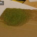 Gras-Streuer Ergebnis