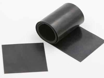 Gummimatte zum Bau von flexiblen Spoilerhalterungen 100 x 100 x 1mm