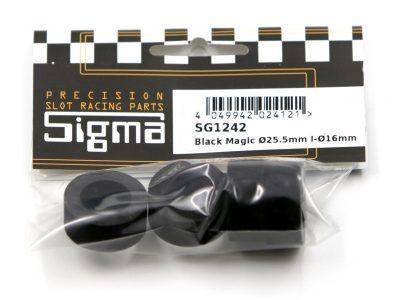 Harter Moosgummireifen Black Magic 22 x 11 mm SG1242