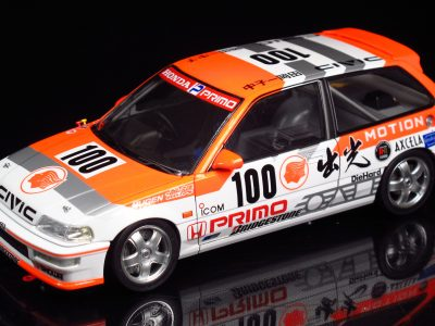 Honda Civic EF9 Group A 1992 No. 100 in 1-24