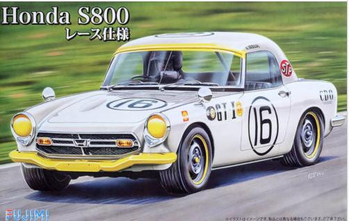 Honda S800 Race Edition 124 Bausatz von Fujimi 039688