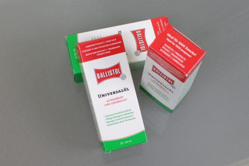 Ballistol Öl zur Rienigung der Autorennbahn Stromleiter
