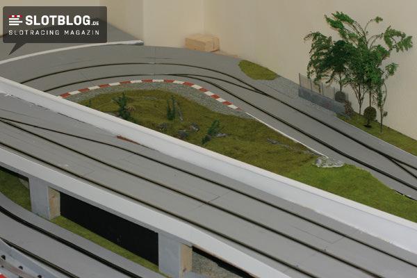 Festaufbau 4: Fahrerlager, Tribüneneinbau